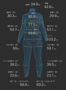 ZOZOスーツで身体の見た目を数値化   2020.08.20